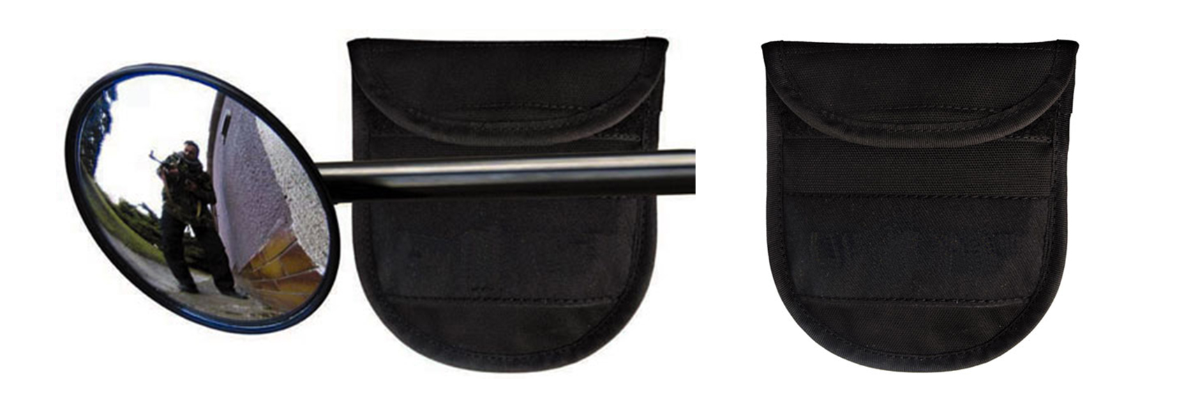 "375 • Mirror-Baton End – Small with Pouch (2.75"") Image"