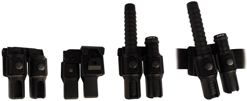 """385 • Combo Swivel Baton / Light Holder for 21"""" Baton Image"""