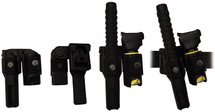 """388 • Combo Swivel Baton / Pepper Spray MKIII Holder for 26"""" Baton Image"""