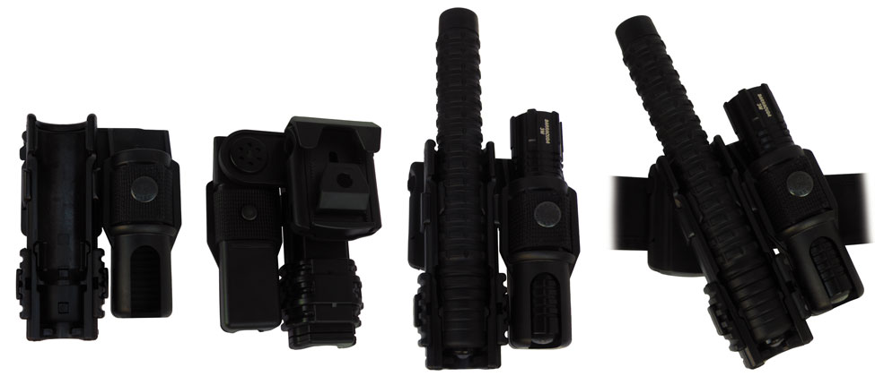 392 • Combo Super Holder with Swivel and Safety * / Tactical Light * Image
