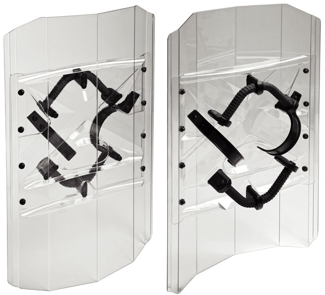 397 • Riot Shield– Ambidextrous w/ Extra Grip for Free Hand Image