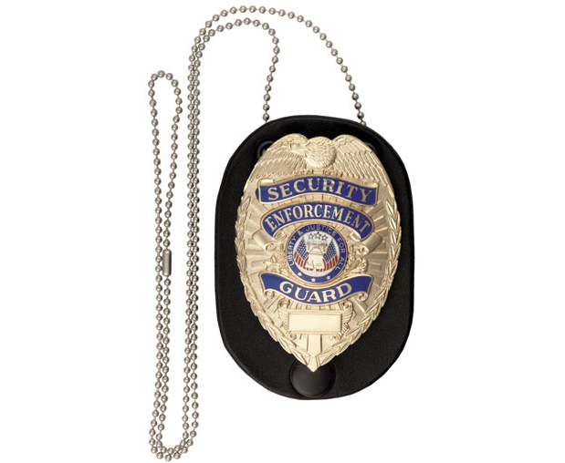 722 • Clip On Badge Holder with Chain Image