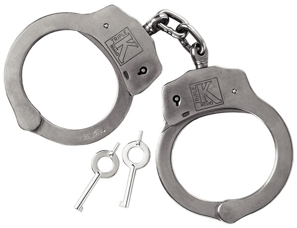 807 • Stainless Steel Imported Handcuffs Image